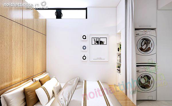Phòng ngủ cho giúp việc thiết kế gọn gàng - Dolphin plaza