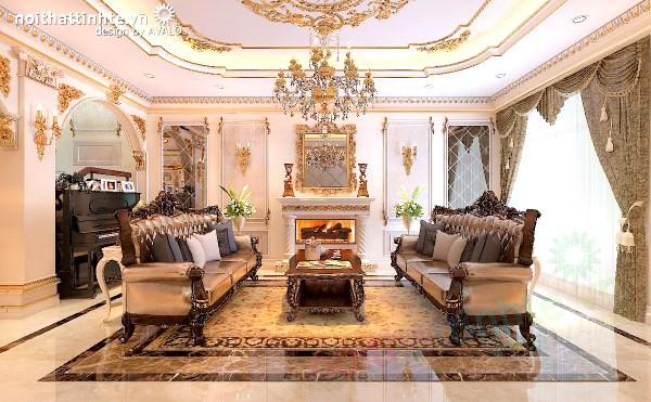 Thiết kế nội thất Tân Cổ điển ở biệt thự Gamuda