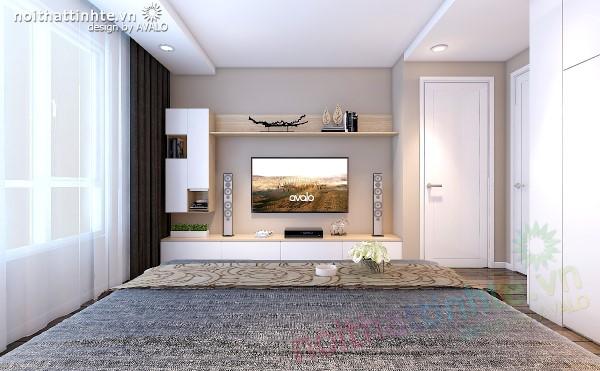 Thiết kế nội thất chung cư N04 - Phòng Ngủ