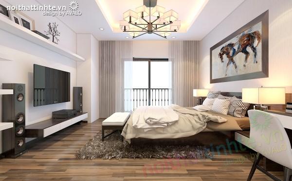 Thiết kế nội thất chung cư Times city © AVALO