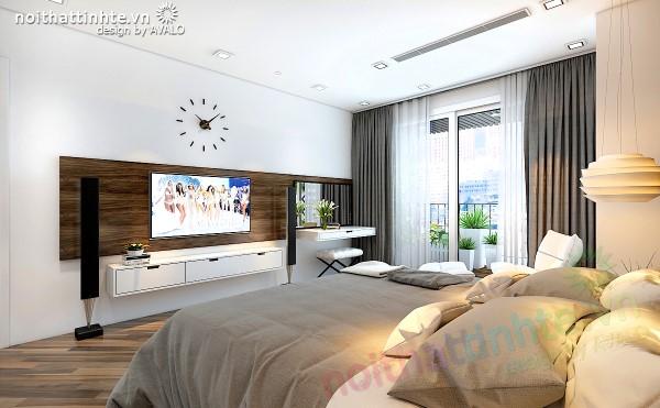 Phòng ngủ chính thiết kế đẹp