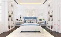 Mẫu phòng ngủ đẹp Tân Cổ Điển trẻ trung