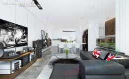 Thiết kế chung cư đẹp ở Trung Hòa