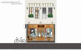 Thiết kế nội thất nhà hàng cafe kiêm nhà ở tại Đà Nẵng