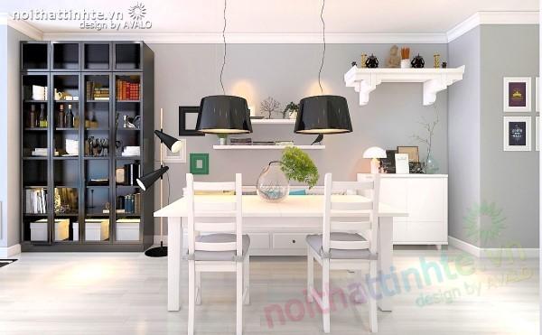 Thiết kế chung cư trẻ xu hướng nội thất thông minh Ikea 2015