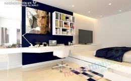 Trang trí phòng ngủ với nội thất hiện đại